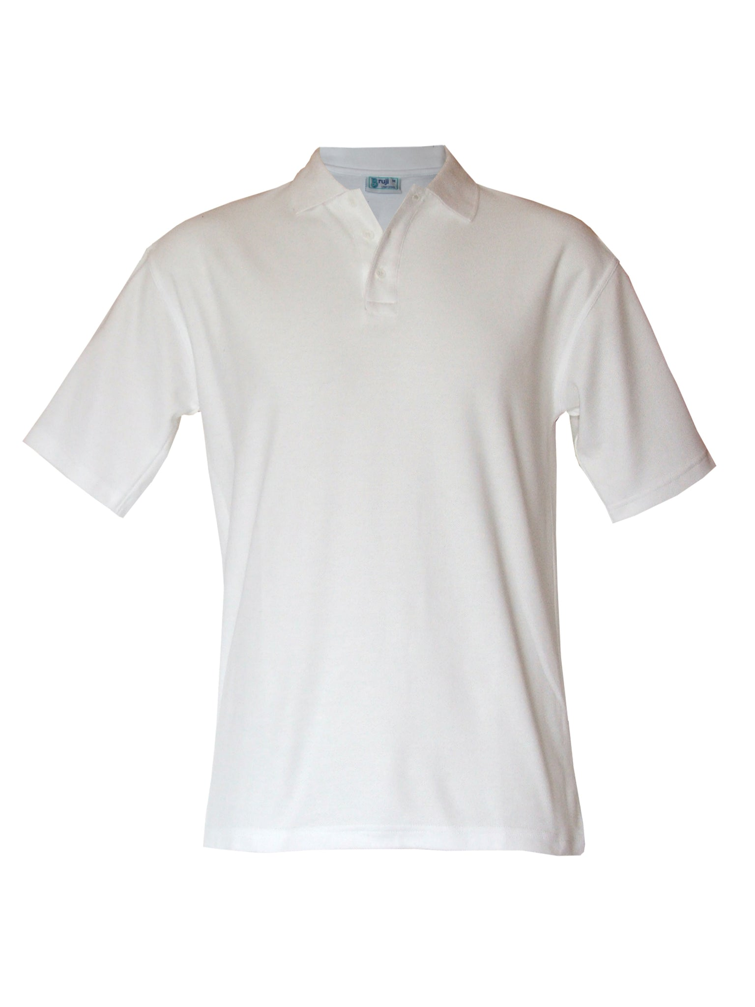 PP1 Unisex Short Sleeve Polo - White