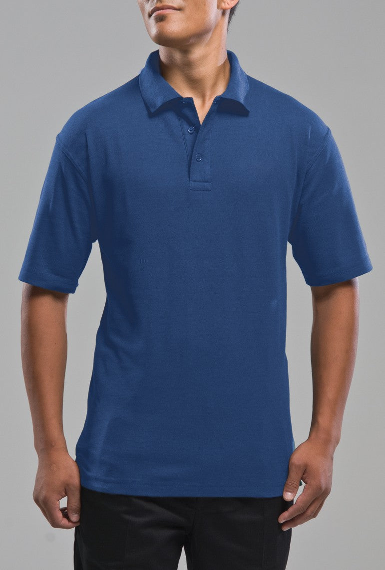 PP1 Unisex Short Sleeve Polo - Royal