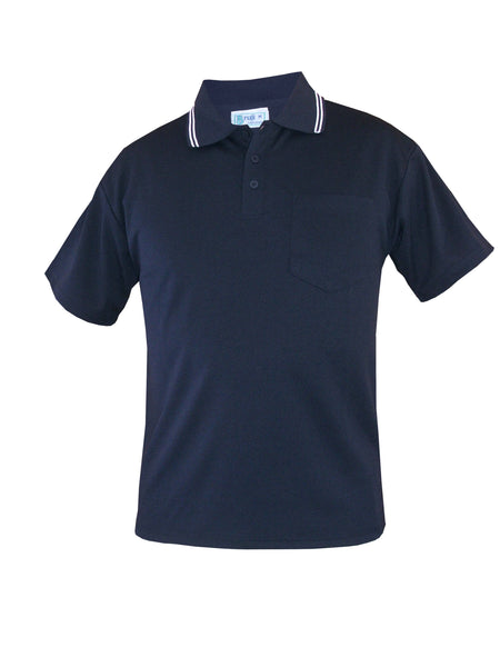 Navy/White Polo Shirt