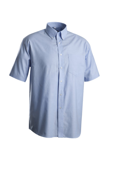 Oxford Button Down Short Sleeve Shirt