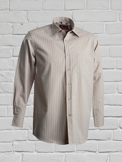 Men's Stone Striped Shirt
