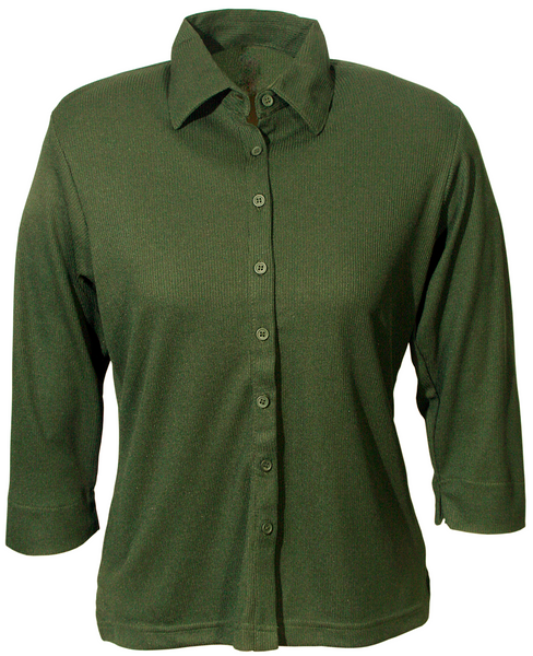 Ladies Forest 3/4 Sleeve Blouse