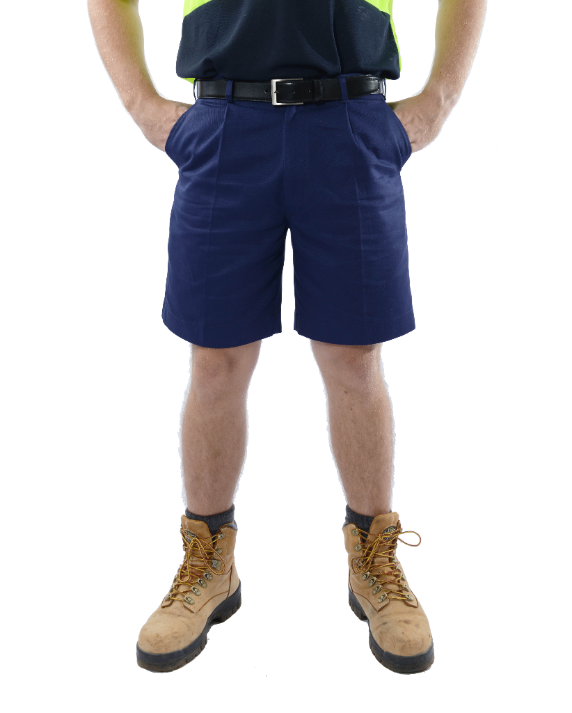 Men's Heavyweight Navy Work Short