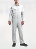 White Zip Combination Overall LSL