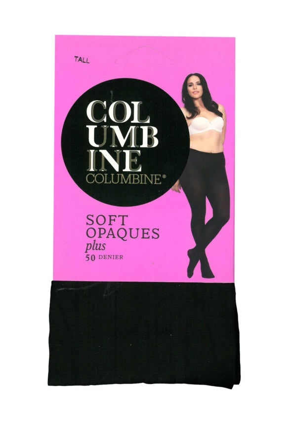 50 Denier Ladies Fleet Opaques - Plus Size
