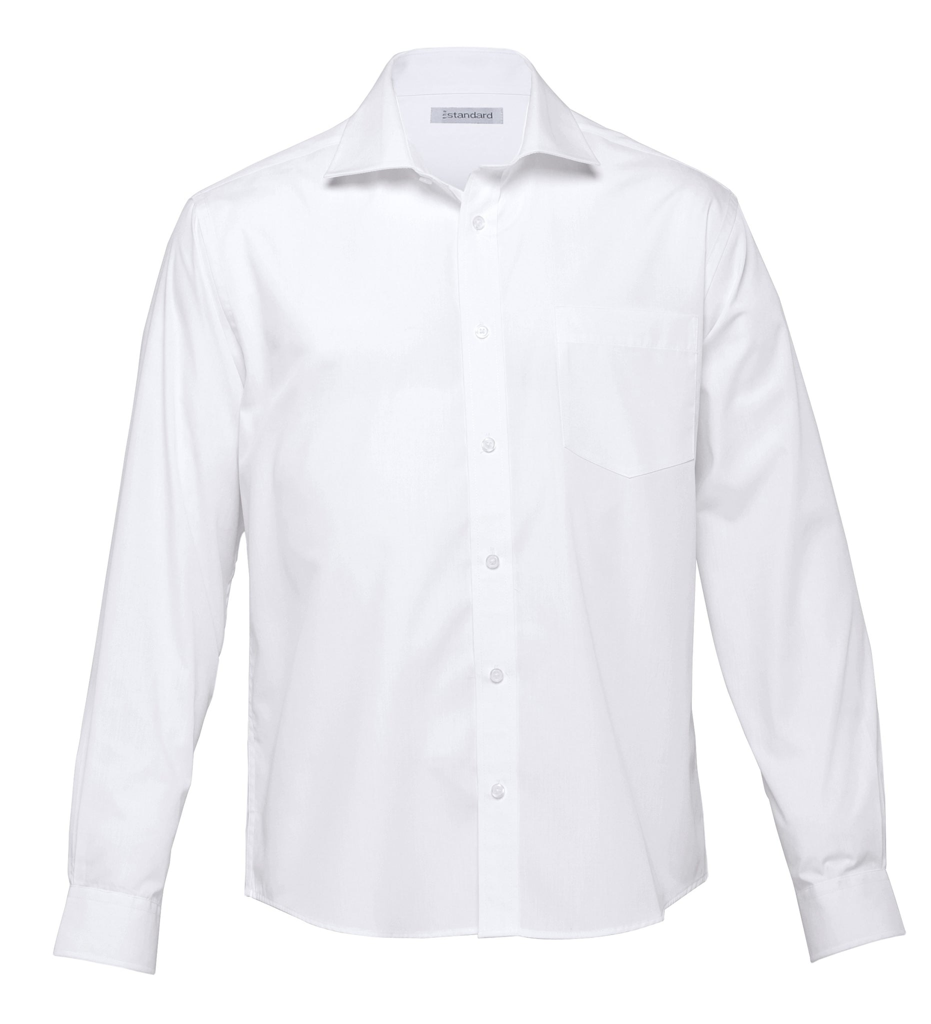 Crisp Men's White Shirt