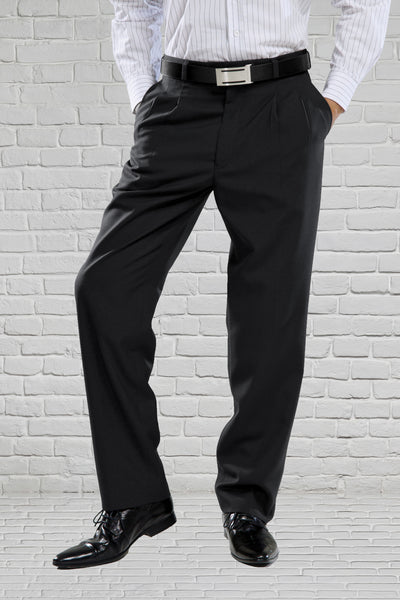 Classic Fit Black Trouser