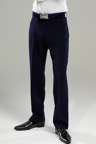 Mens Navy Denver Trousers