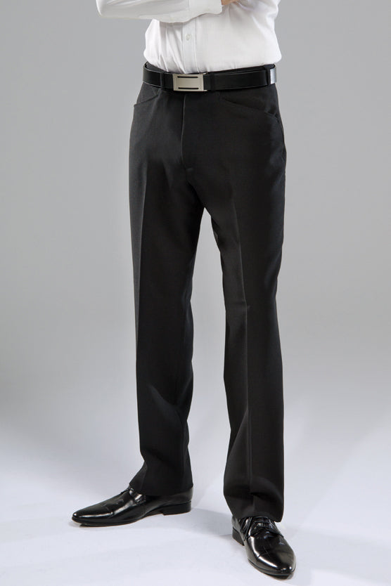 Mens Black Denver Trousers