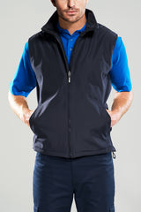 Men's Reversible Vest - Black