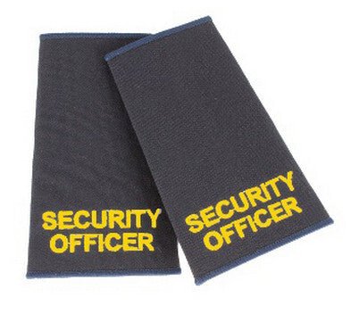 Security Officer Epaulette Slides
