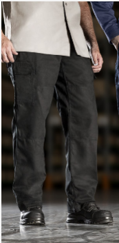 Men's Drill Cargo Pant - Black