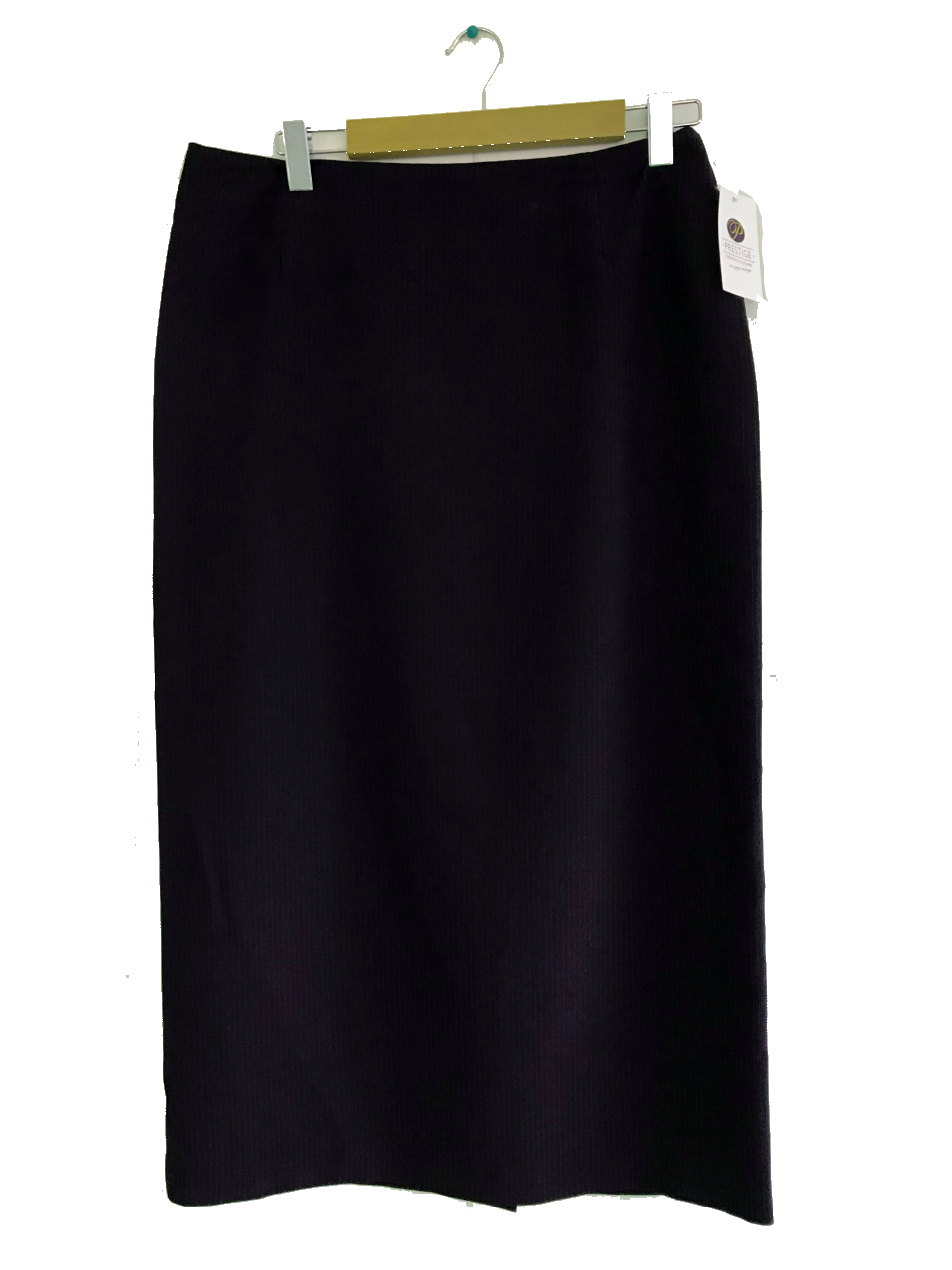 Ladies Long Navy Skirt