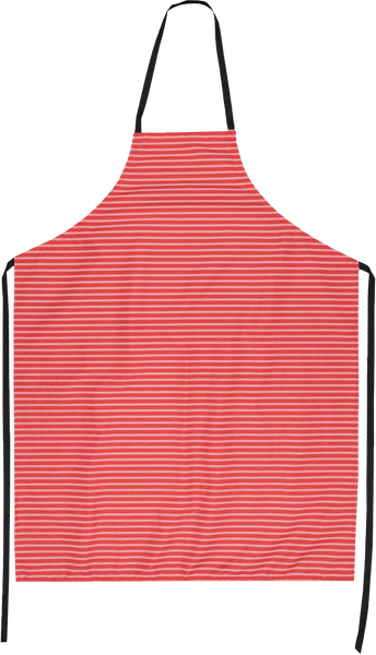 Red Stripe Butchers Apron