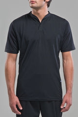 Black Rugby Polo