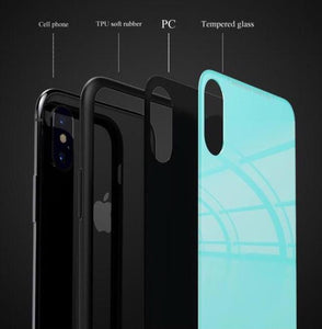 *NEW ARRIVAL* RS Tempered Glass Carbon Fiber Style Case for iPhone 11 Pro Pro Max XR XS XS Max X 8 7 6 Samsung Galaxy S10 S9 S8 Note 9 8