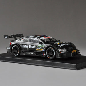 Diecast Car Model Toy 1:43 M4 DTM Racing Team Replica Collection