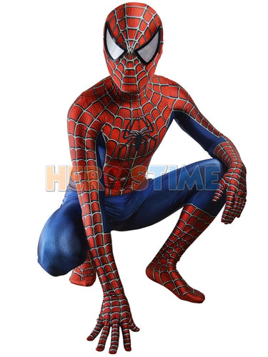 Spider-Man 3D Printed Spandex Cosplay Costume for Men & Woman