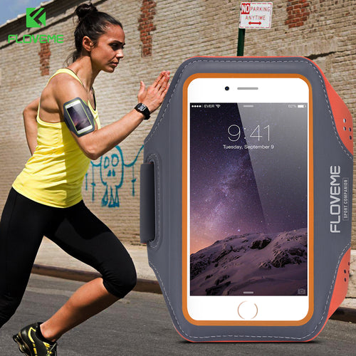 Waterproof Sports Arm Band Case For iPhone 6 & 6 Plus 6. Great for Outdoors, Running & Gym