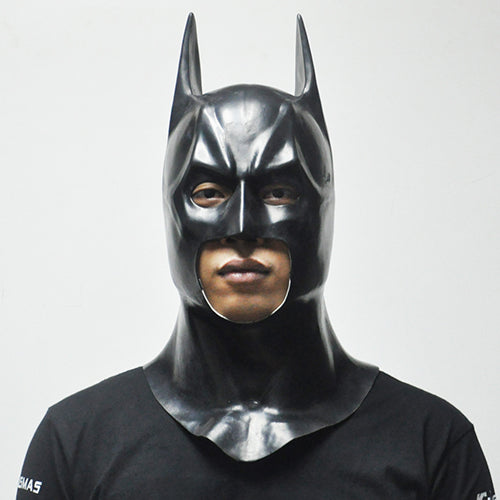Batman Full Overhead Latex Cosplay Mask
