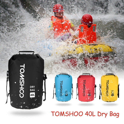 TOMSHOO 40L Dry Bag Waterproof Outdoor Backpack