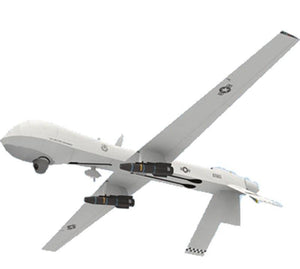 Aircraft DIY Paper 3D Model General Atomics MQ-1 Predator 1:24