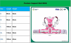 New Magnetic Spine Support Belt, Posture Corrector, Neoprene Back Corset Brace