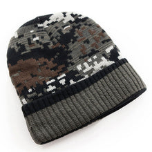Tactical Knitted Camo Beanie, Multi Purpose use, Hunters, Fishermen