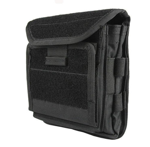 1000D Molle Tactical Admin Front Magazine Storage Pouch with Hook Loop Pull ID Flap