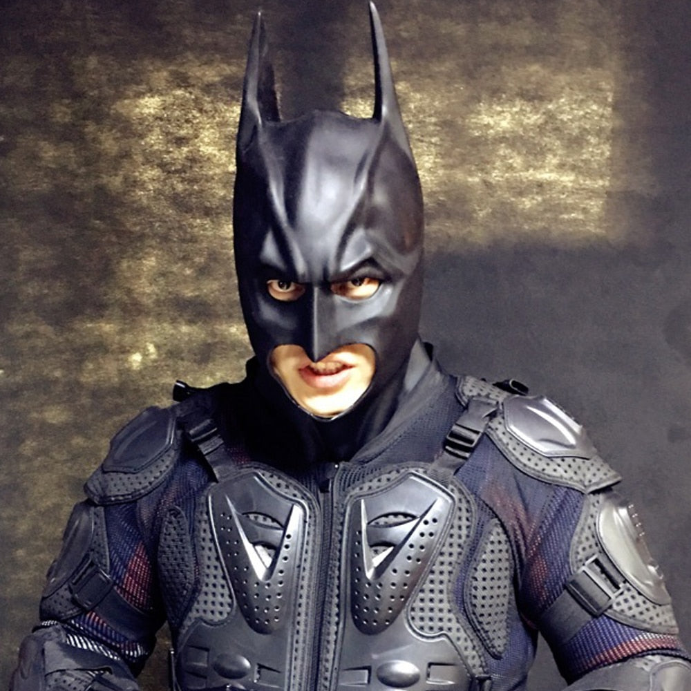 Batman The Dark Knight Full Overhead Latex Cosplay Mask