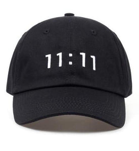 11:11 Embroidered Cap