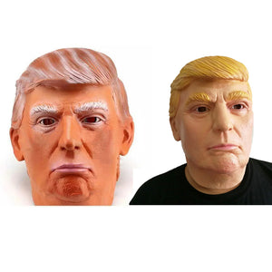 Donald Trump Full Overhead Latex Cosplay Mask