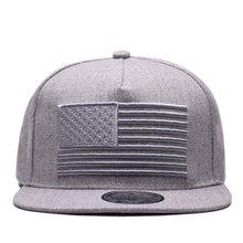 Stars & Stripes 3D Embroidered Hip Hop Snapback Cap