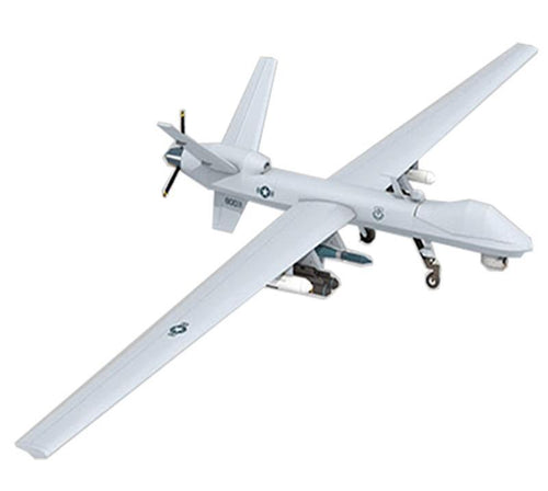 Aircraft DIY Paper 3D Model General Atomics MQ-9 Reaper Reconnaissance Aircraft 1:32