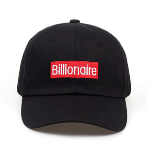 Billionaire Box Logo Embroidered Cap