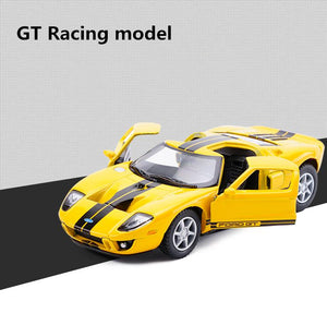 Ford GT Alloy Pull Back Model, High Simulation 1:36 scale