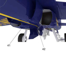 Aircraft DIY Paper 3D Model Blue Angels McDonnell Douglas F/A-18 Hornet 1:48