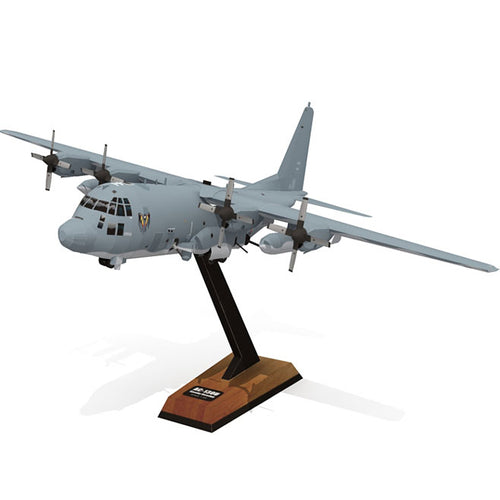 Aircraft DIY Paper 3D Model AC-130U Gunship 1:100