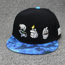 Mouse Hands Burn Down Weed Hip Hop Cap