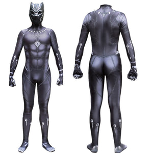 Black Panther T'Challa Wakanda King Spandex Cosplay Costume