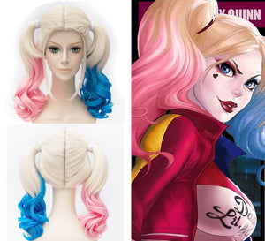 Costume Suicide Squad, Harley Quinn Cosplay Wig, Cosplay, Comic Con
