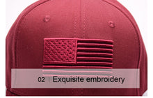 Stars & Stripes 3D Embroidered Sport Cap