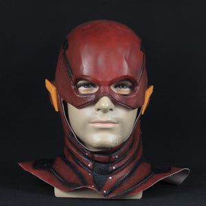 Justice League The Flash Latex Full Overhead Mask