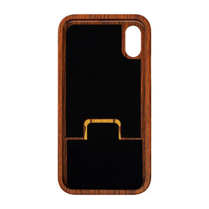 Carved Cross Natural Wood Phone Case For iPhone X 8 7 6 5 Plus