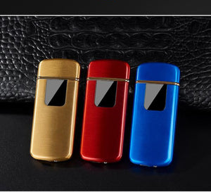 Electronic Tungsten Turbo USB Cigarette Lighter Touch Sensitive Switch *FREE Engraving
