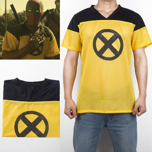 Deadpool 2 X-Force Yellow Jersey