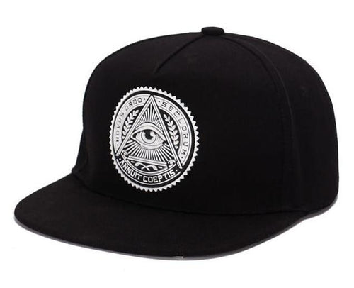 3D Gods Eye Plastic Patch Hip Hop Snapback