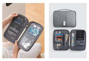 Travel Security Document Organizer