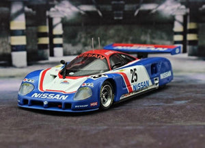 Diecast Car Model Toy 1:43 Nissan R89C Racing Replica Collection