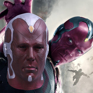 The Avengers Vision Full Overhead Latex Cosplay Mask